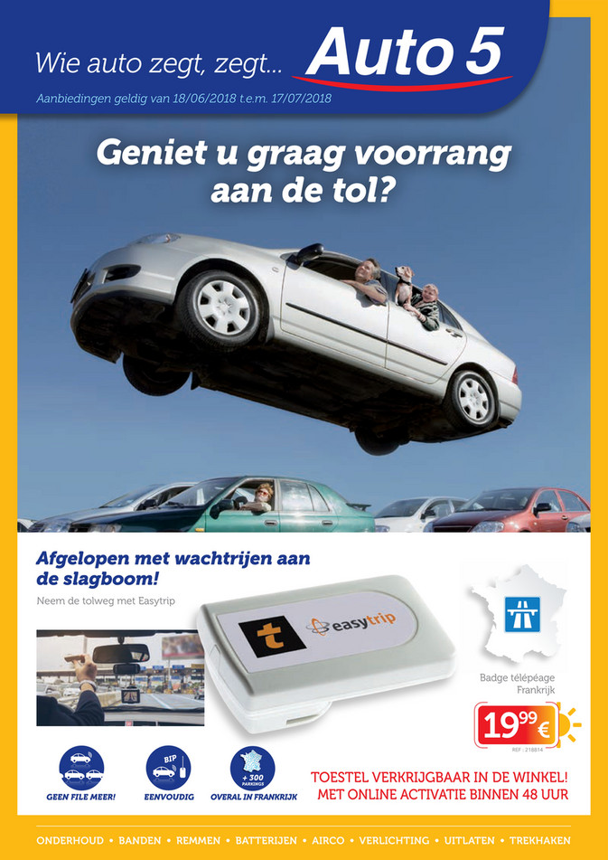 Auto5 folder van 18/06/2018 tot 17/07/2018 - Folder zomer Auto5.pdf