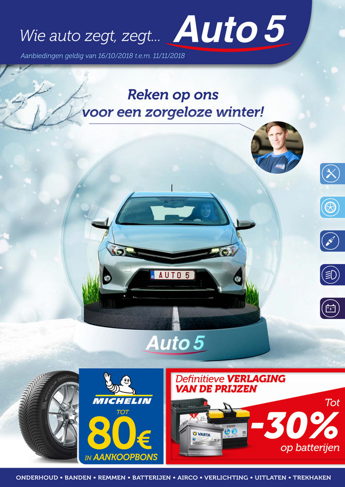 Auto5 folder van 16/10/2018 tot 11/11/2018 - Weekpromoties 42