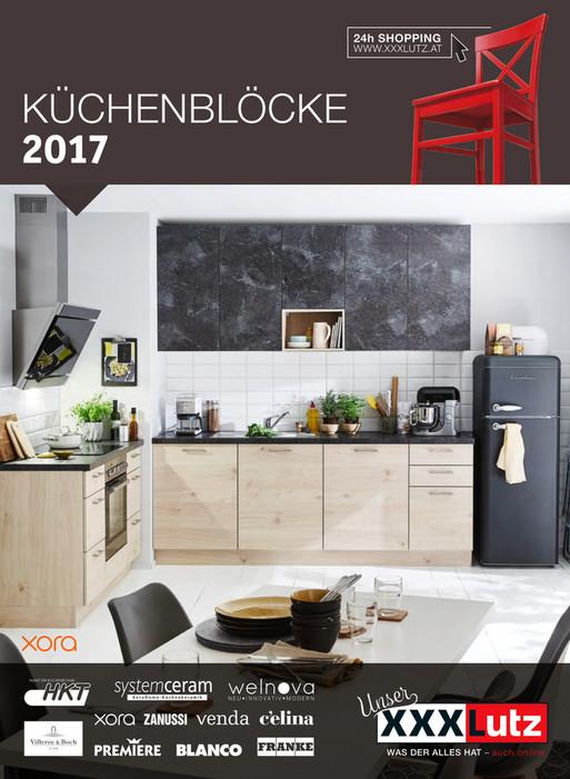 XXXLutz Küchenkatalog - Flugblättern.at | {Küchenkatalog 17}