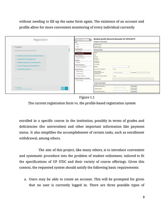 My publications - Specification and Design Report - Page 1 - Created