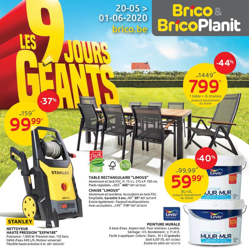 Folder Brico du 20/05/2020 au 01/06/2020 - Promotions de la semaine 21