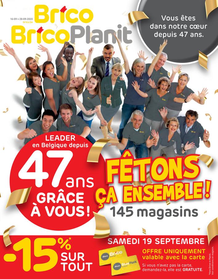 Folder Brico du 16/09/2020 au 28/09/2020 - Promotions de la semaine 38