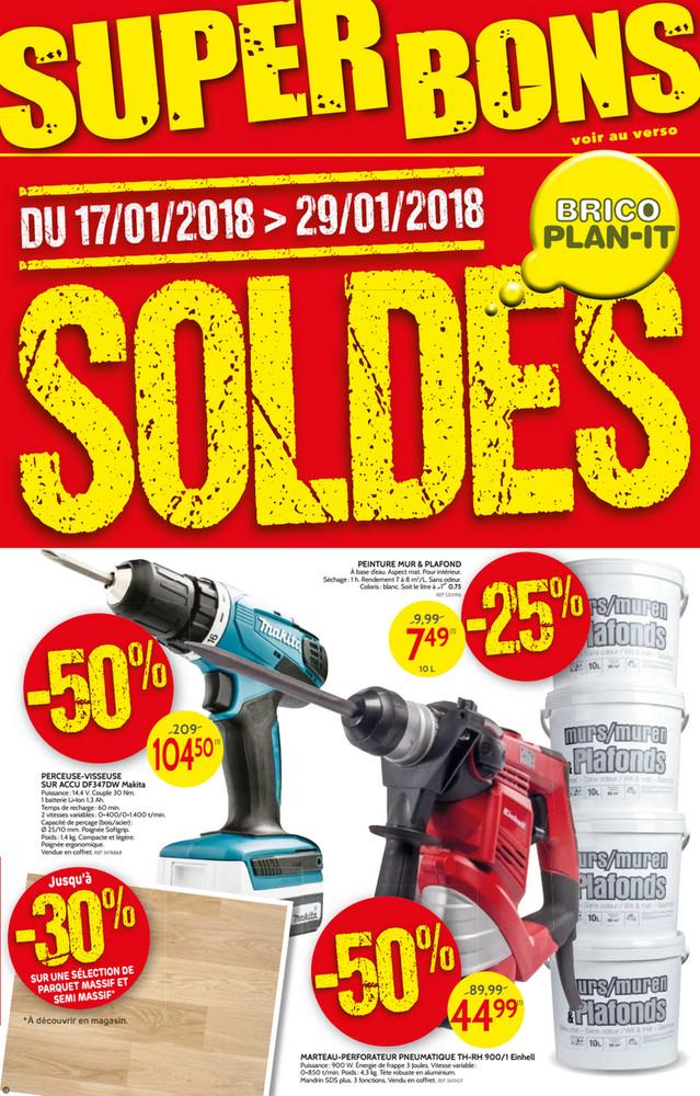 Folder Brico du 22/01/2018 au 29/01/2018 - Brico Plan-it soldes & superbons
