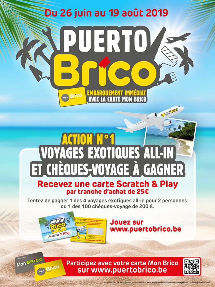 Folder Brico du 26/06/2019 au 19/08/2019 - Promotions de la semaine 26