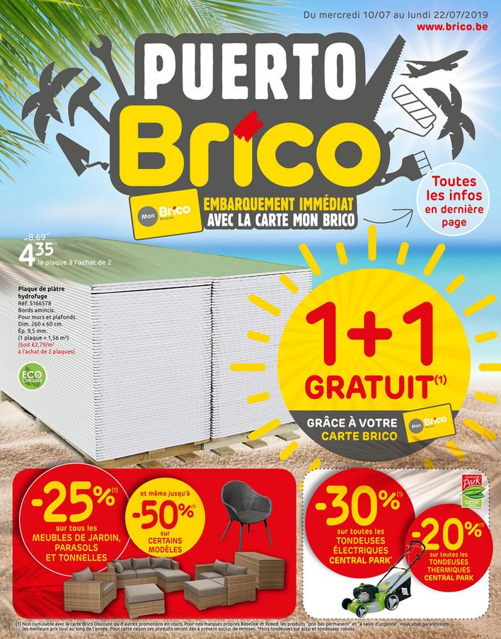 Folder Brico du 10/07/2019 au 22/07/2019 - Promotions de la semaine 28