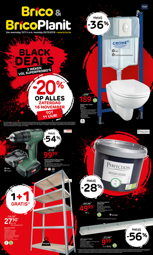 Promoties Black Deals
