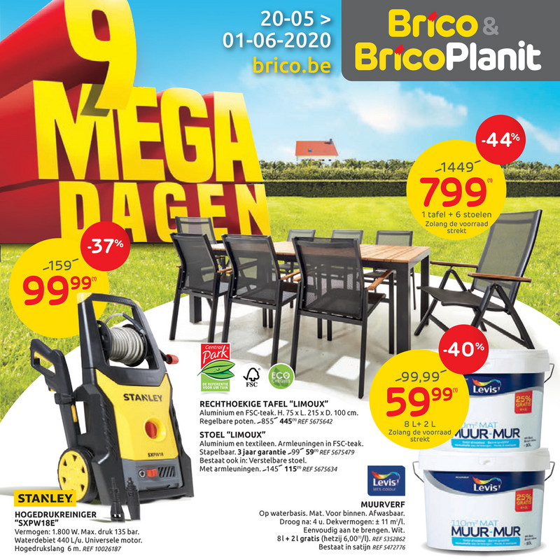 Brico folder van 20/05/2020 tot 01/06/2020 - Weekpromoties 21