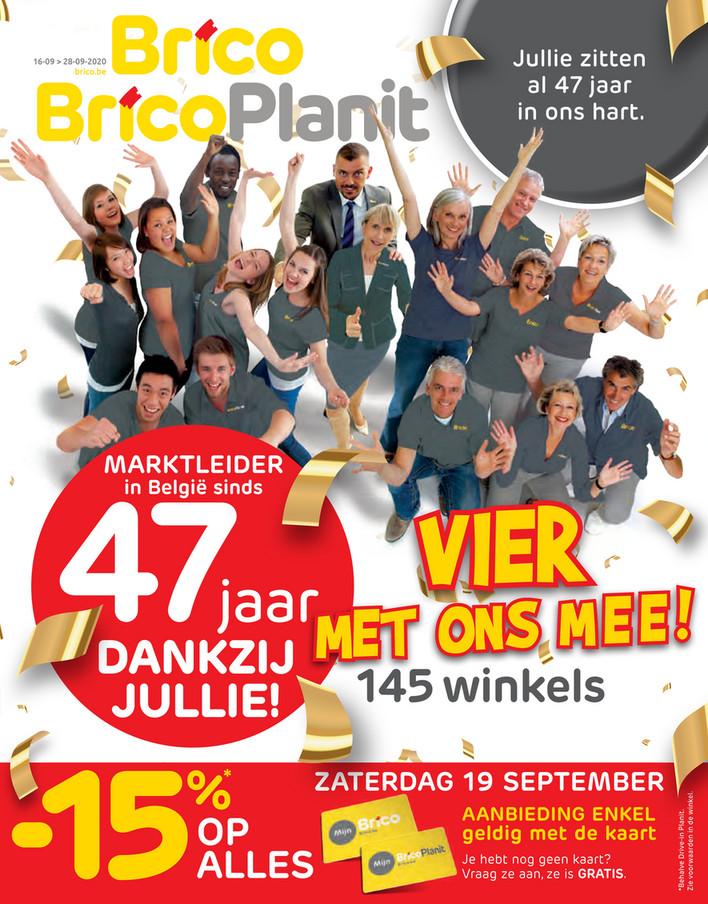 Brico folder van 16/09/2020 tot 28/09/2020 - Weekpromoties 38