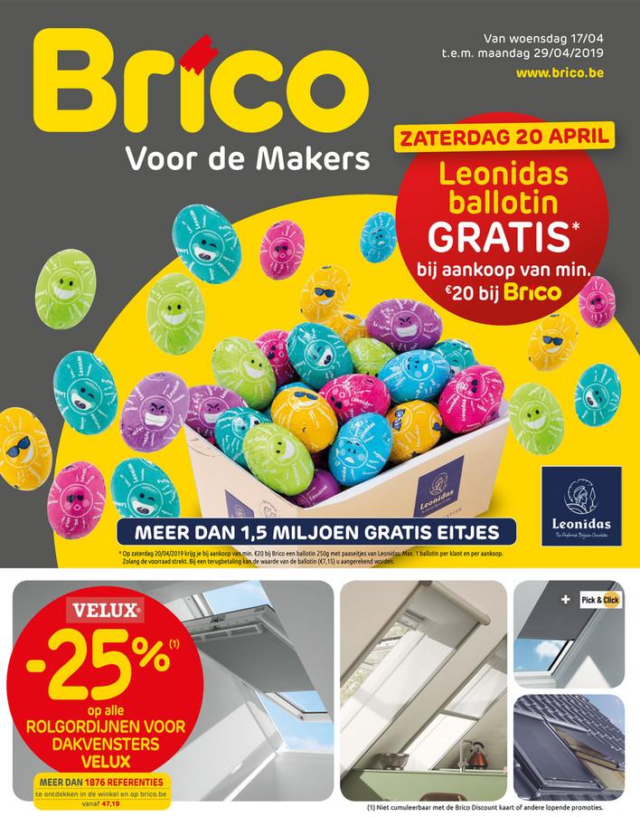 Brico folder van 17/04/2019 tot 29/04/2019 - Promoties van de week 15a
