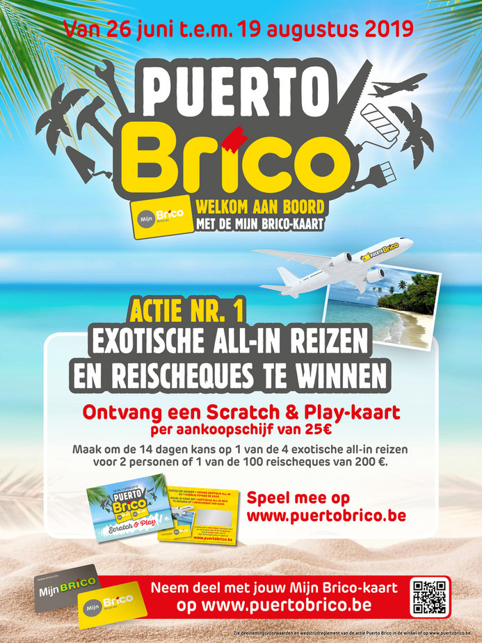 Brico folder van 26/06/2019 tot 19/08/2019 - Promoties van de week 26