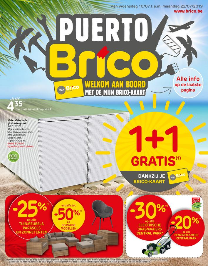 Brico folder van 10/07/2019 tot 22/07/2019 - Promoties van de week 28