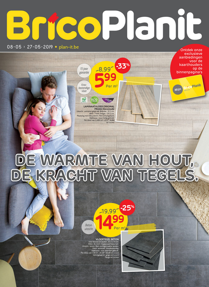 Brico Plan It folder van 08/05/2019 tot 27/05/2019 - Promoties van de week 19