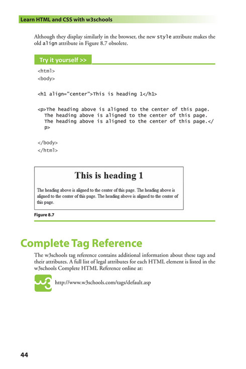 Complete Html Tags Pdf