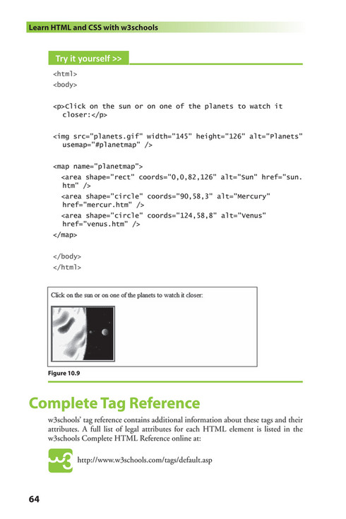 Citrus Fashions - [Wiley] - Learn HTML and CSS - [w3Schools] - Page