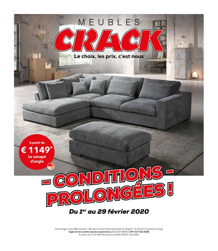 Crack  folder van 03/02/2020 tot 29/02/2020 - Maandpromoties februari