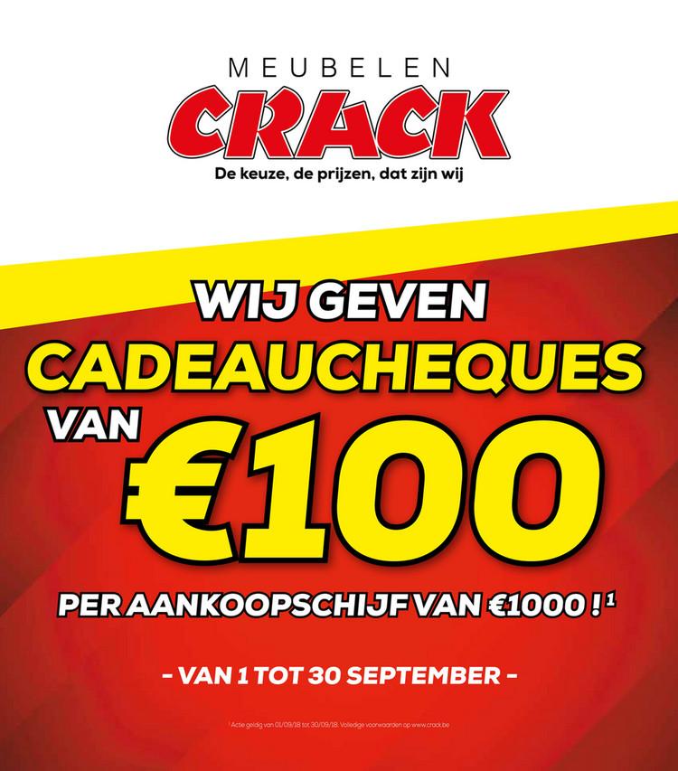 Crack  folder van 01/09/2018 tot 30/09/2018 - Promoties van de maand