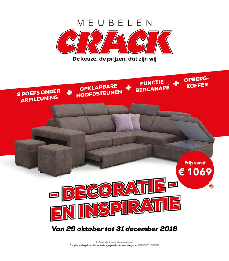 Crack  folder van 01/11/2018 tot 30/11/2018 - Weekpromoties 44