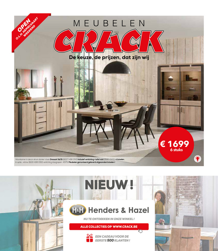 Meubelen en keukens Crack folder van 06/05/2019 tot 30/06/2019 - maandpromoties mei