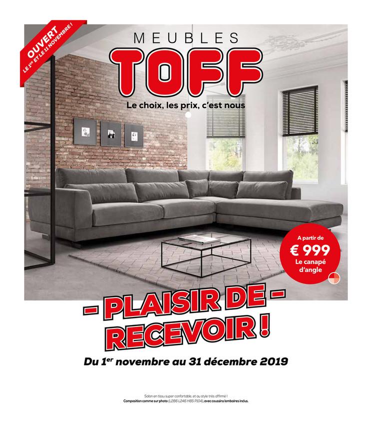 Folder Toff  du 01/11/2019 au 31/12/2019 - Promotions du mois novembre decembre