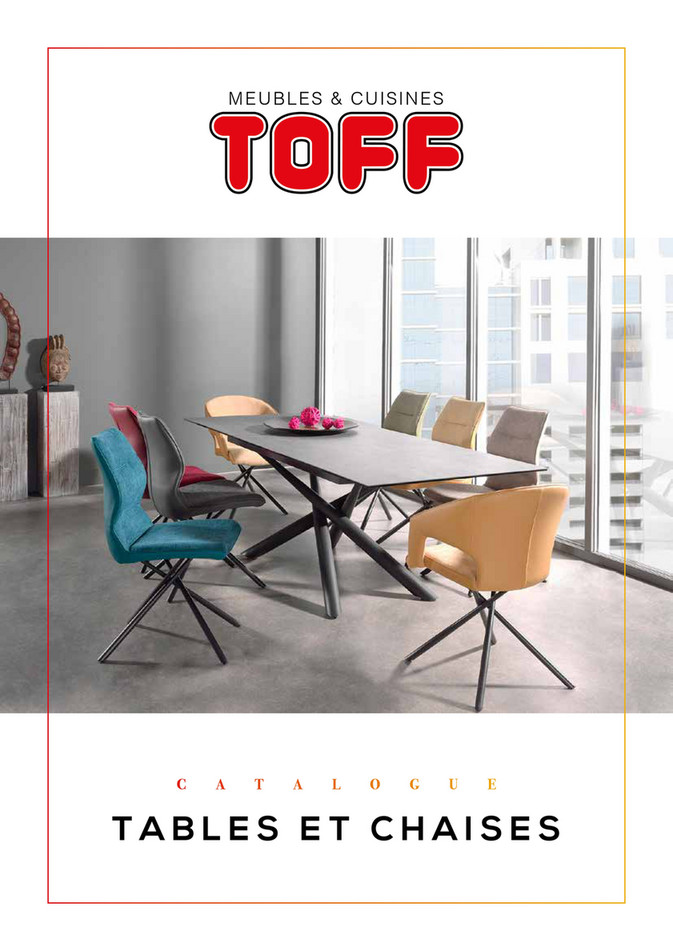 Catalogue Toff Tables et chaises 2020