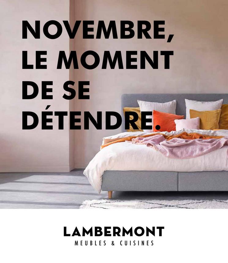 Promotions du mois novembre