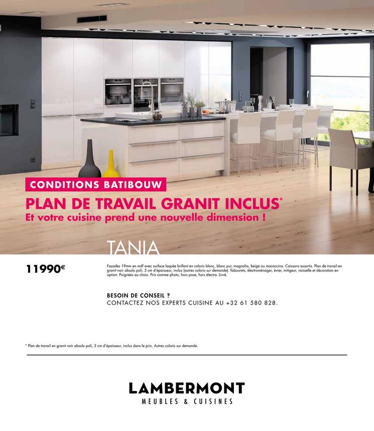 Folder Lambermont du 02/02/2018 au 28/02/2018 - Promo cuisines