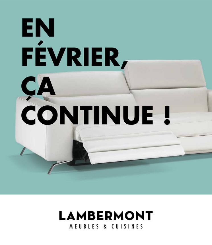 Folder Lambermont du 02/02/2018 au 28/02/2018 - Promo meubles