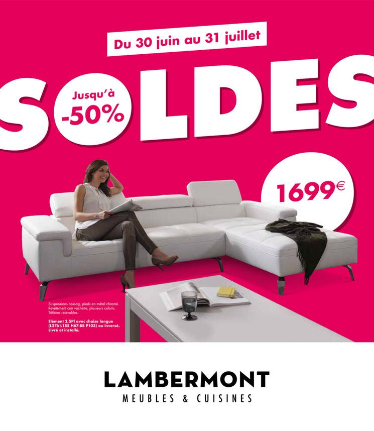 Folder Lambermont du 25/06/2018 au 31/07/2018 - Lambermont soldes
