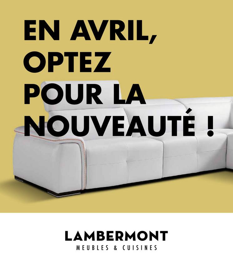 Folder Lambermont du 01/04/2019 au 30/04/2019 - Promotions de la semaine 14