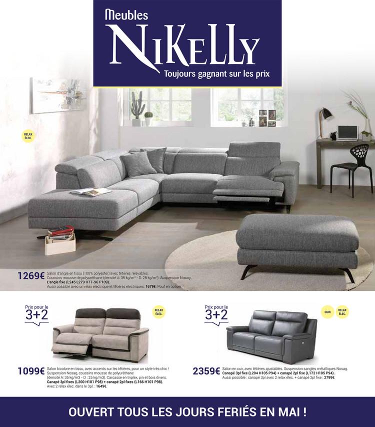 Folder Nikelly du 06/05/2019 au 30/06/2019 - promotions du mois mai