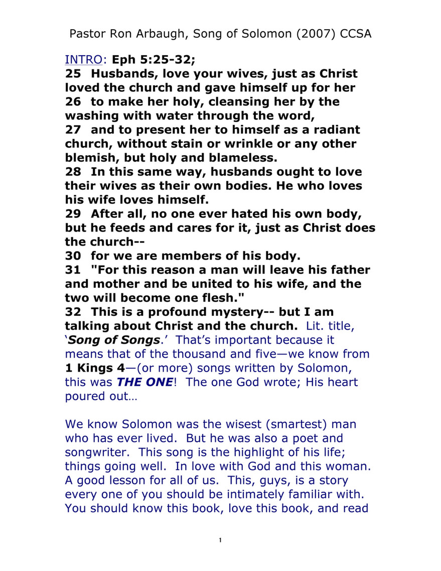Calvary Chapel Of San Antonio Song General Page 1 Created With Publitas Com