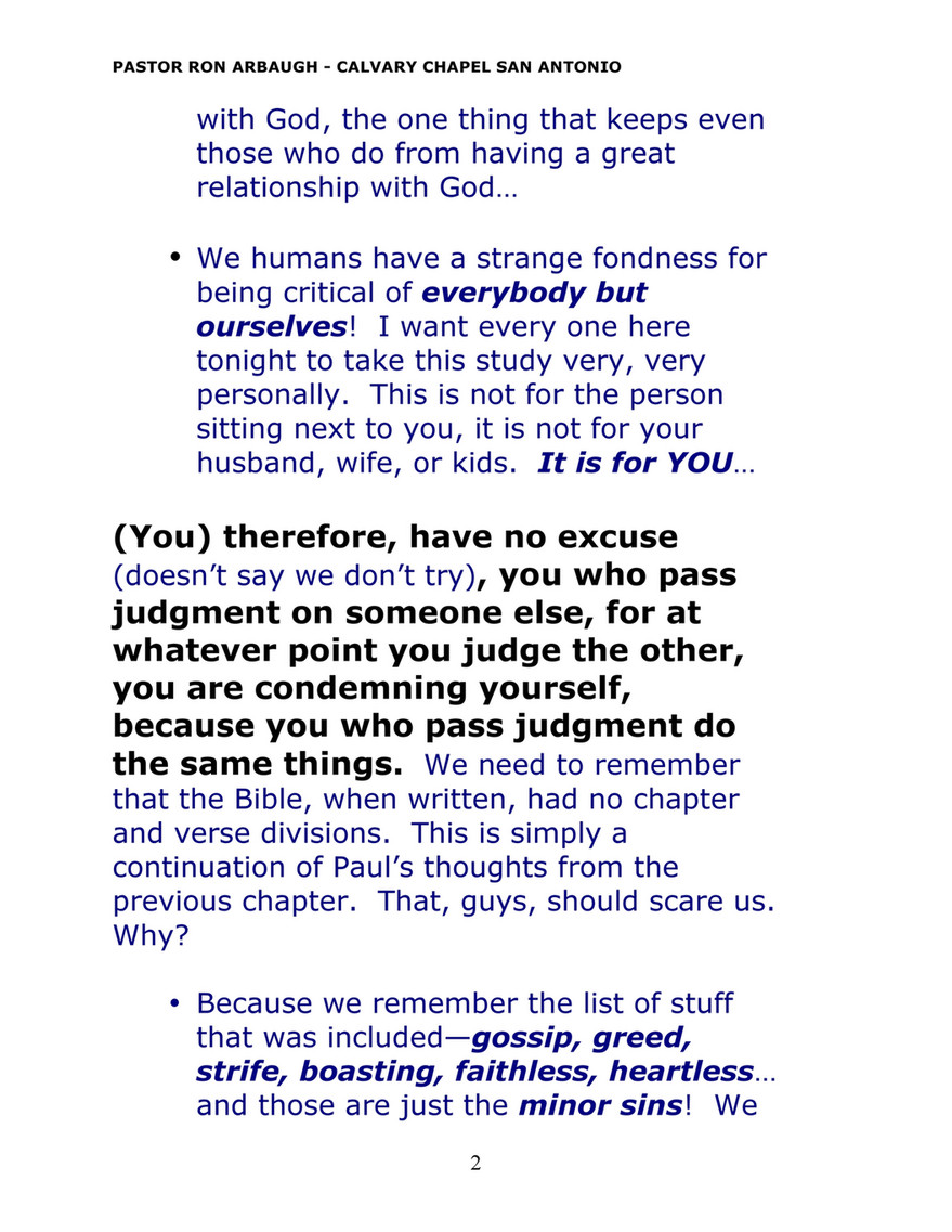 Calvary Chapel of San Antonio - rom2 - Page 2 - Created with