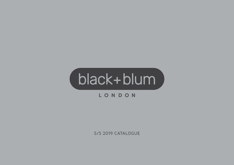 Muller - Black+Blum Catalogue SS 2019 - Page 1