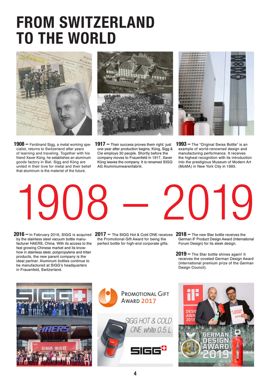 Muller - SIGG Corporate Gifts Catalogue