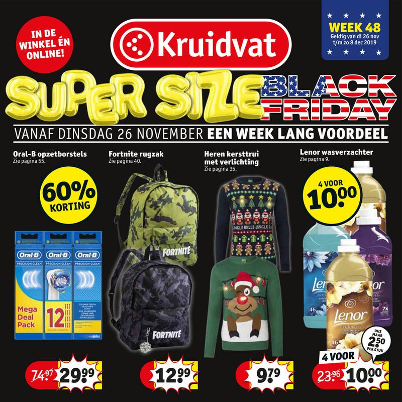 Kruidvat folder van 26/11/2019 tot 08/12/2019 - Weekpromoties 48