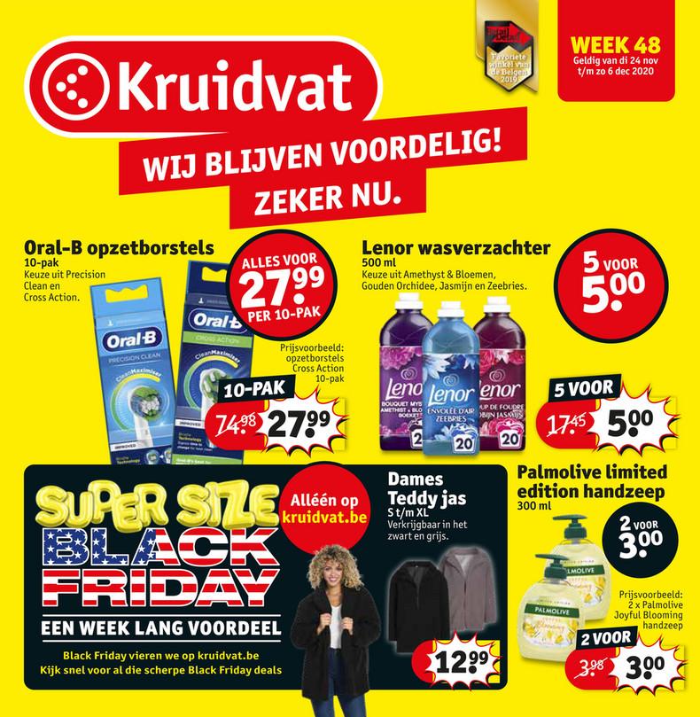 Kruidvat folder van 24/11/2020 tot 06/12/2020 - Weekpromoties 48