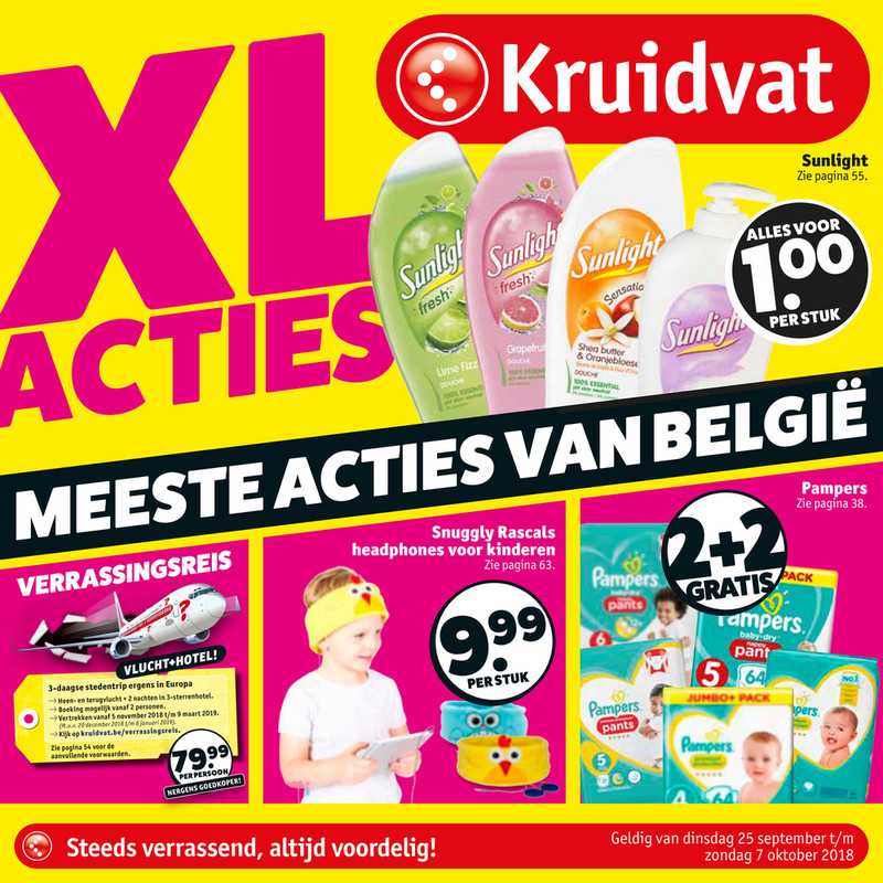 Kruidvat folder van 25/09/2018 tot 07/10/2018 - Weekpromoties 39