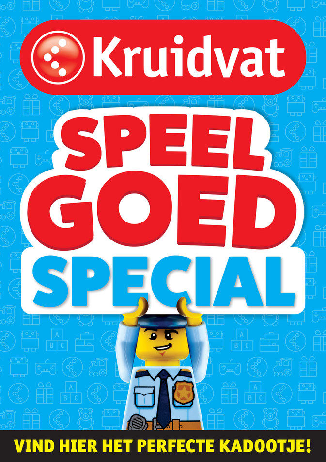 Kruidvat folder van 24/09/2018 tot 31/12/2018 - Speelgoedspecial