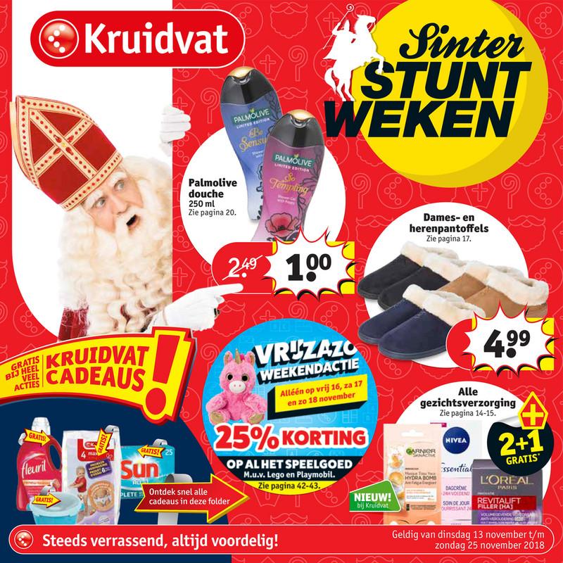 Kruidvat folder van 13/11/2018 tot 25/11/2018 - Weekpromoties 46