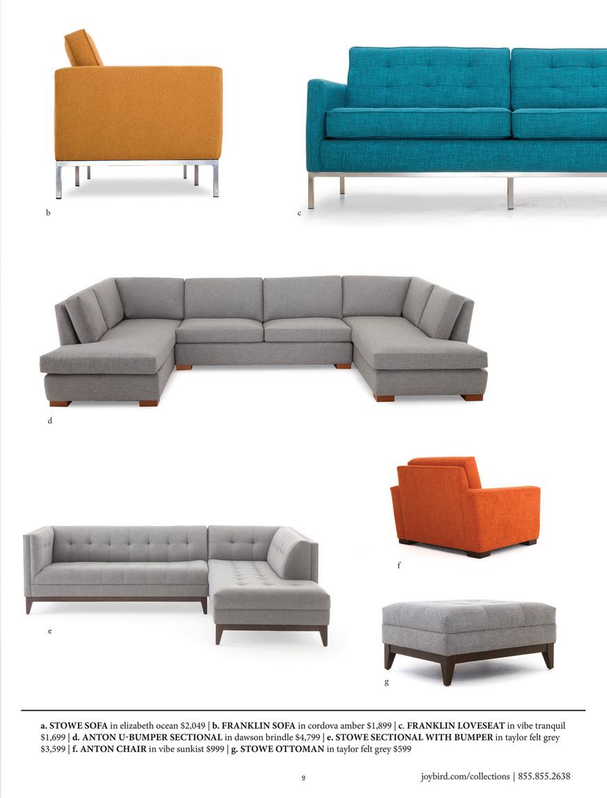 Terrific Joybird Furniture Catalog Winter 2017 Page 10 11 Creativecarmelina Interior Chair Design Creativecarmelinacom