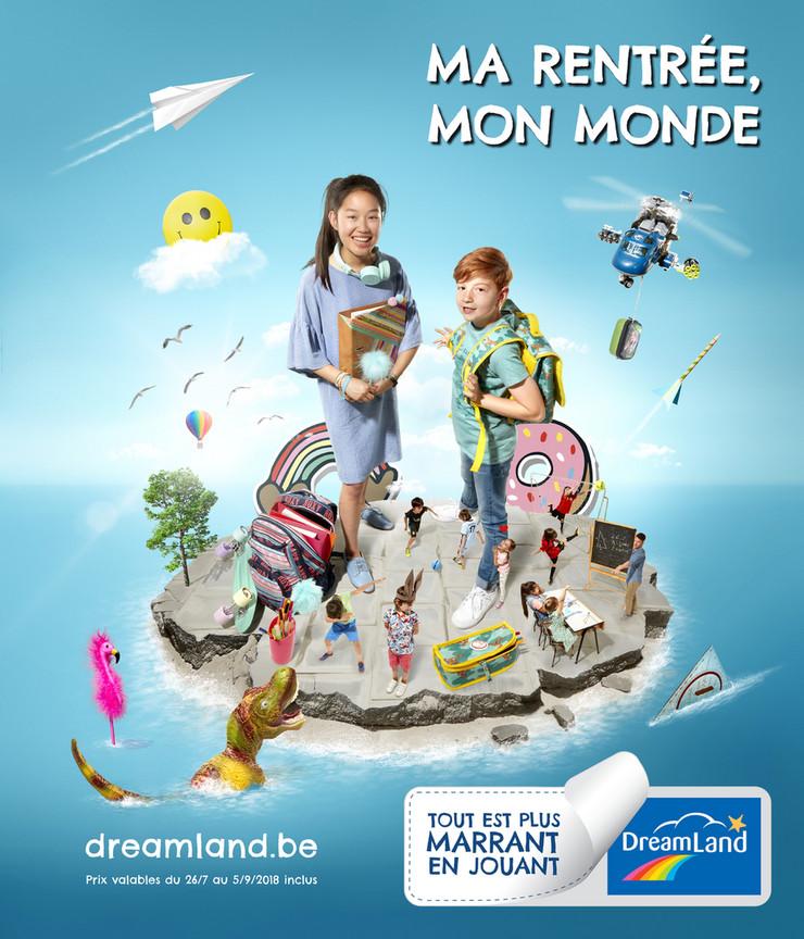 Folder Dreamland du 26/07/2018 au 05/09/2018 - Ma rentrée, mon monde