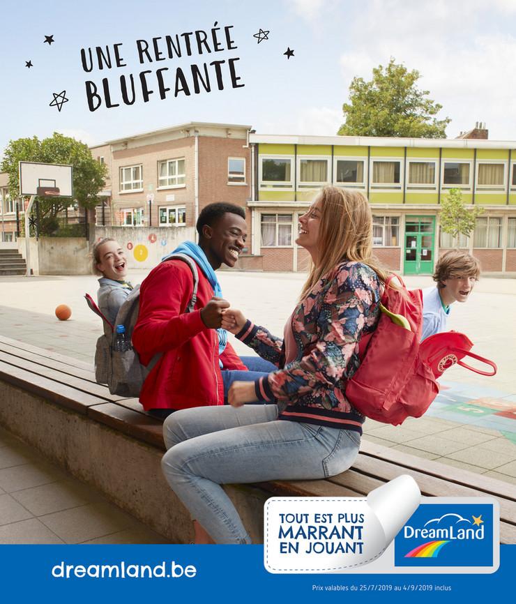 Folder DreamLand du 25/07/2019 au 04/09/2019 - La rentrée 2019