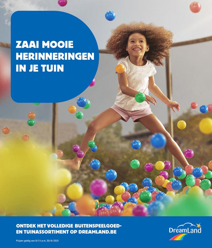 Promoties Dreamland - lente