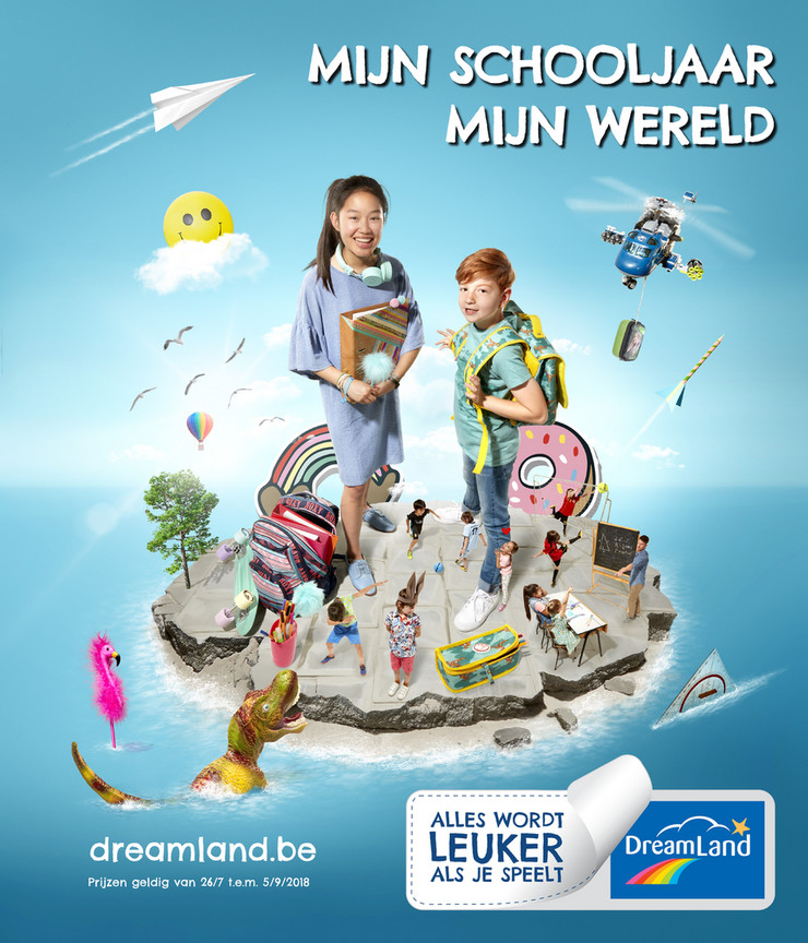 Dreamland folder van 26/07/2018 tot 05/09/2018 - Mijn schooljaar mijn wereld