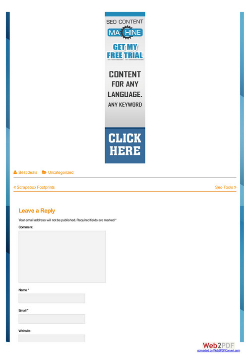 Best Deals - Seo Content Machine - Page 2-3 - Created with Publitas com
