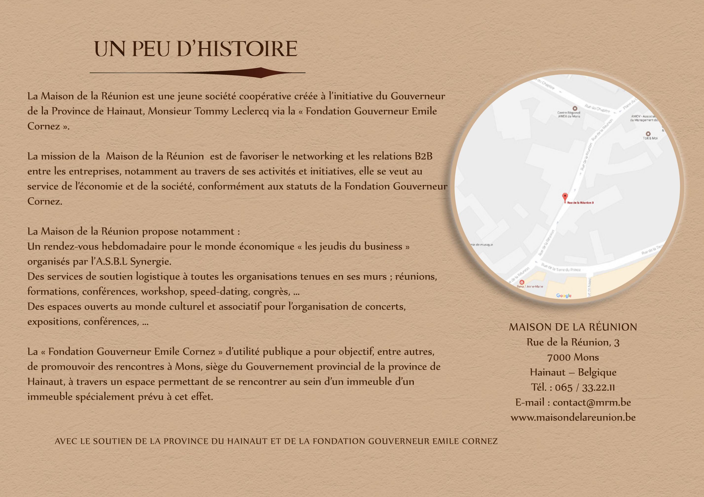 Detandt Simon Presentation De La Maison De La Reunion Page 1 Created With Publitas Com