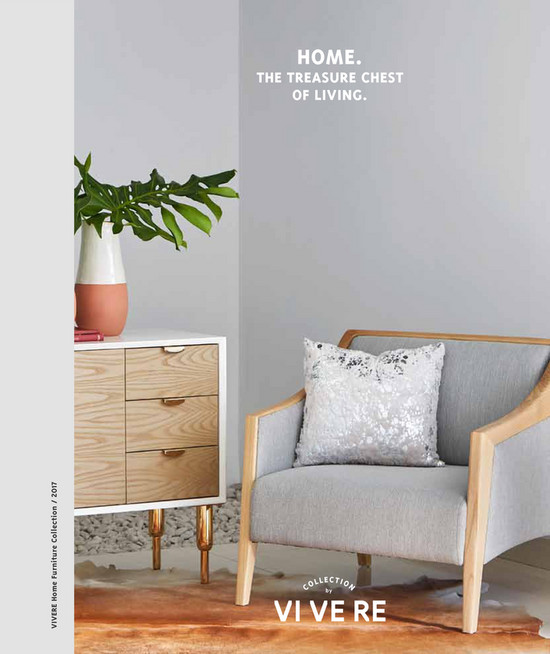 Vivere home furniture collection 2017 the treasure chest of living home by