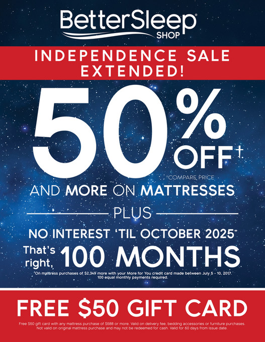 Morris Furniture Company   Independence Sale At The Better Sleep Shop    Page 2 3