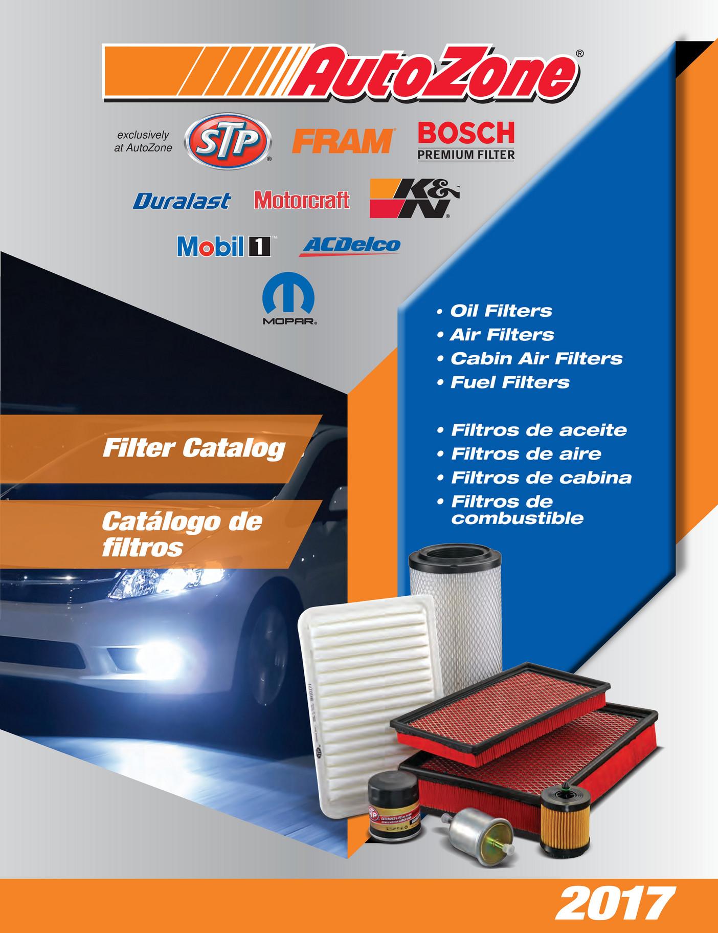 Champion Labs - 2017 AutoZone Automotive Catalog - Page 810-811