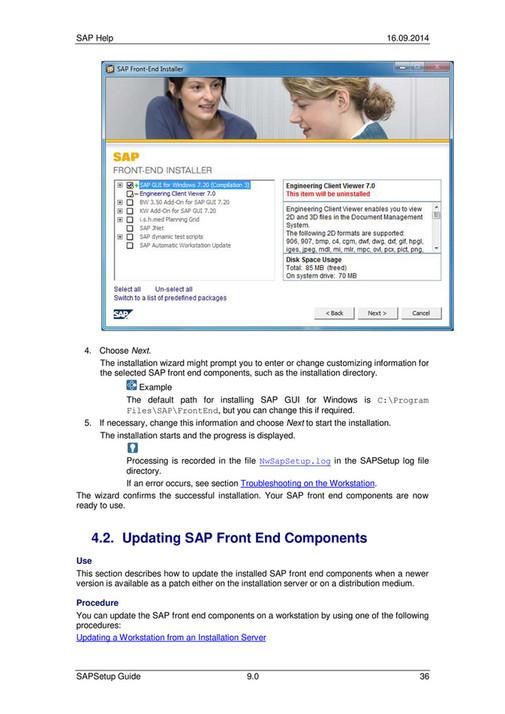 ecs - SAP Setup Guide - Page 38-39 - Created with Publitas com